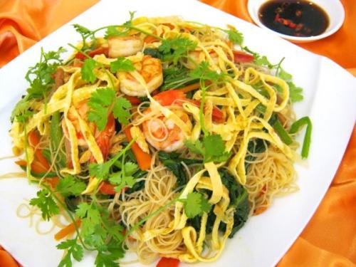 Image result for bún gạo xào singapore